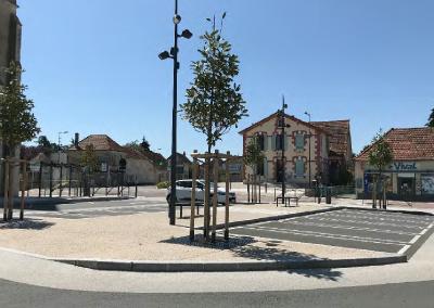 Aménagement du centre-bourg – Saint-Rémy-en-Rollat (03)