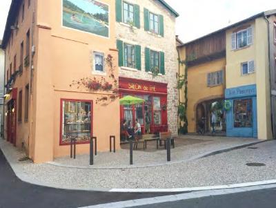 Aménagement de la place Nationale, de la Place de l'Église et de la Rue de l'Église, Cublize (69)