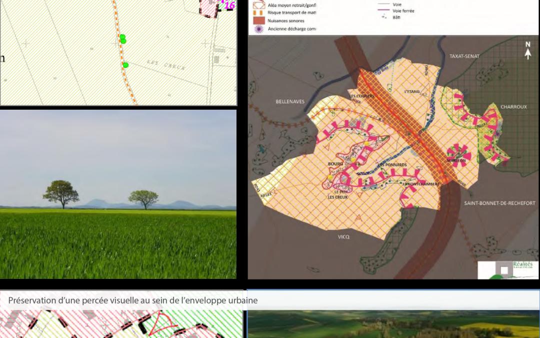 Élaboration du P.L.U. Des enjeux paysagers forts – Commune de Naves (03)