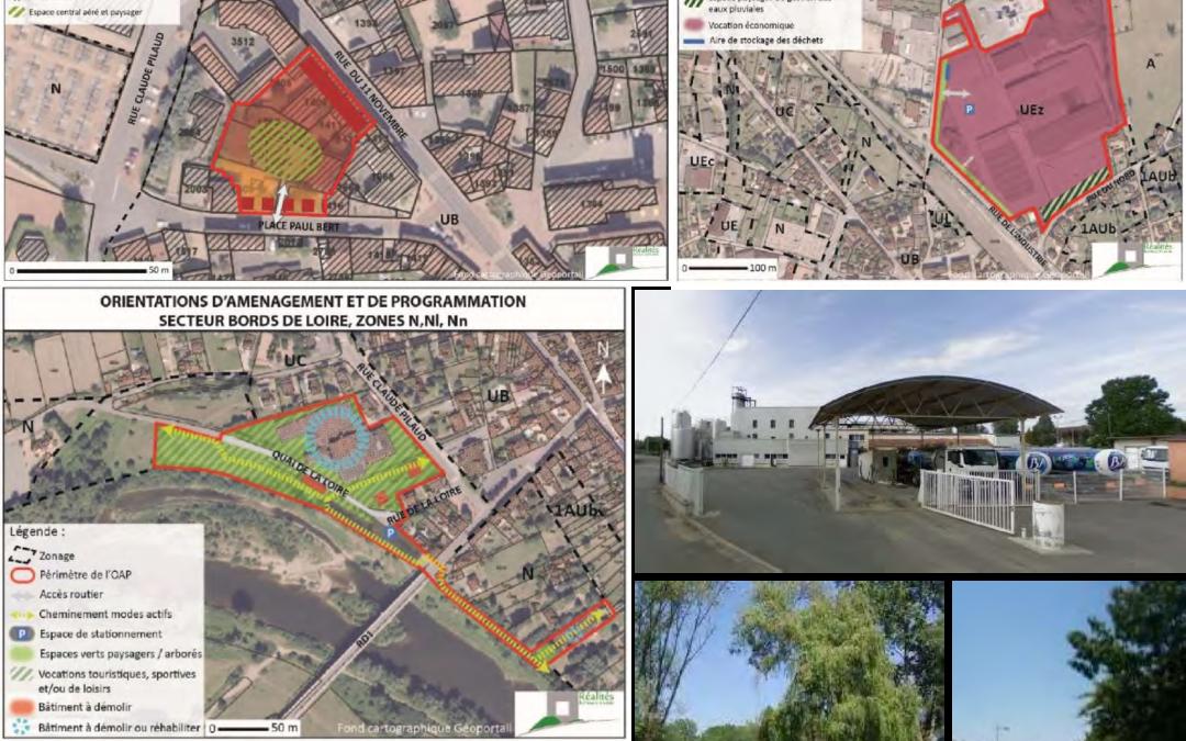 Requalification de sites urbains – Développement économique -Commune de Balbigny (42)