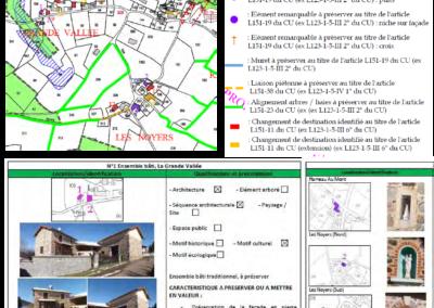 Élaboration du P.L.U.  Mise en valeur du patrimoine – Commune de Belleroche (42)