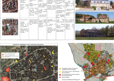 Mise en valeur du patrimoine Dynamisation du pôle de proximité – Commune de Charlieu (42)