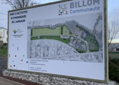 Requalification et extension du parc d'activités économiques de l'Angaud – Billom (63)