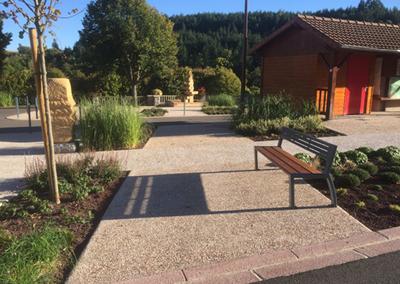 Aménagement du Centre-Bourg – Saint-Alban-les-Eaux (42)