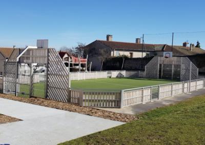 Aménagement d'une aire de jeux et d'un terrain multi-sports – Saint-Haon-le-Vieux (42)