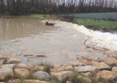 Schéma Directeur de Gestion des Eaux Pluviales de la Communauté de Communes du Pays de Bâgé (01)