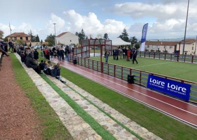 Aménagement d'une aire de jeux et d'un terrain multisports- Chantier participatif – Villemontais (42)