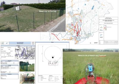 Schéma directeur d'alimentation en eau potable de la commune de Saint-Galmier (42)