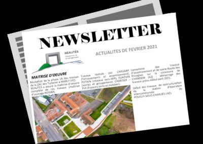 Newsletter FEVRIER 2021